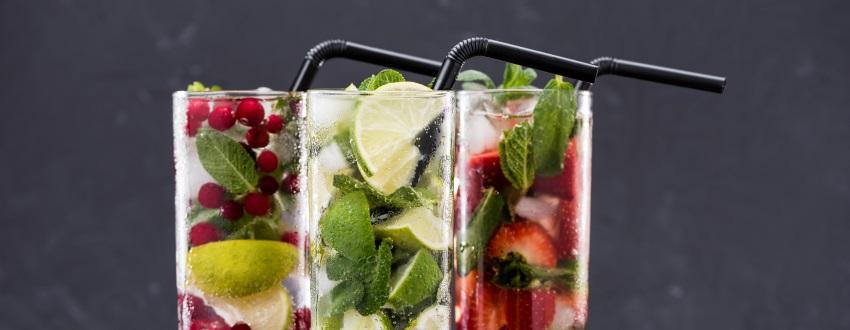 Klassische Drinks zum Grillabend