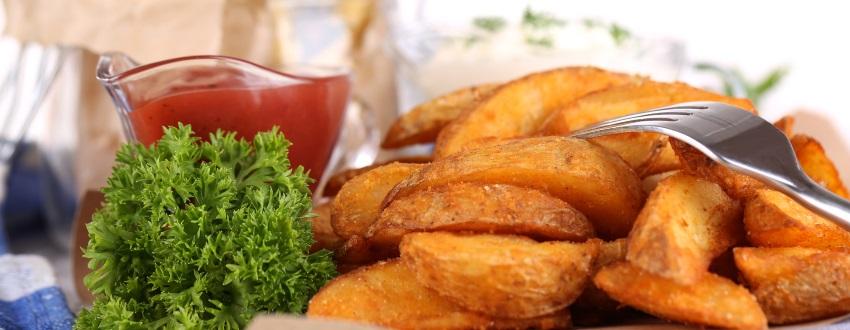 Süßkartoffel grillen als Spirale