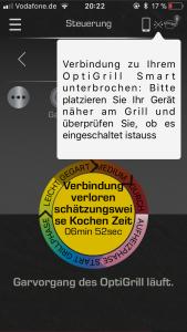 Verbesserung OptiGrill Smart App