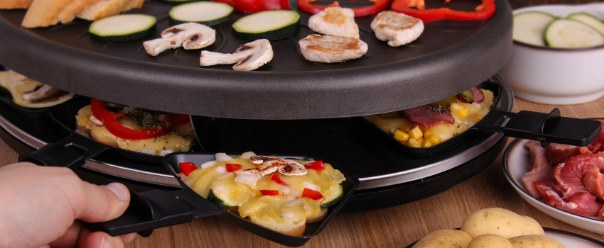 raclette statt fondue zu silvester oder beides. Black Bedroom Furniture Sets. Home Design Ideas