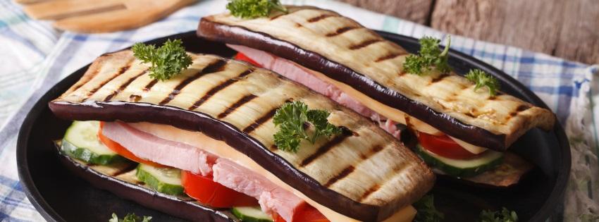 Gemüsesandwiches grillen