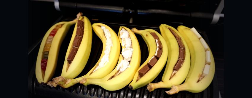 Grilldessert - gegrillte Banane