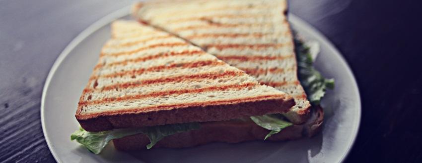 Gegrillte Sandwich Varianten