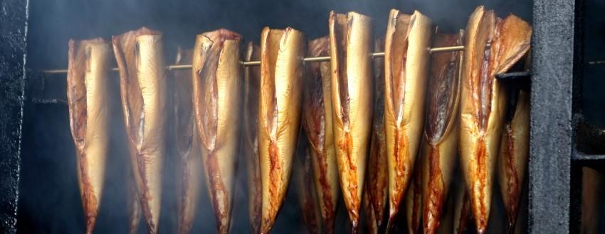 Räuchern und Smoken von Fisch