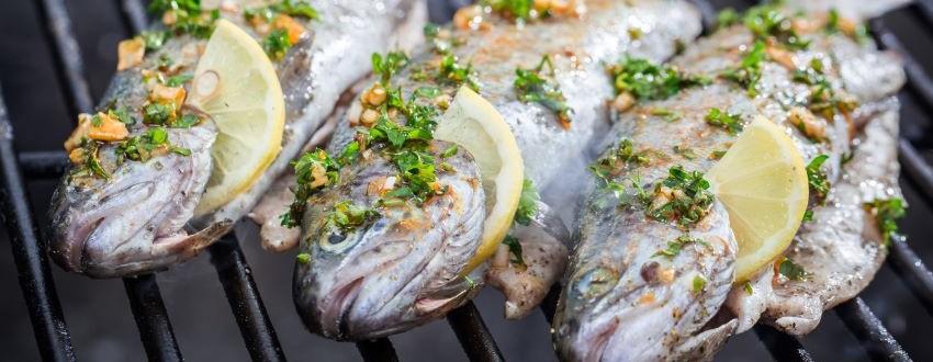 Fisch grillen ist einfach